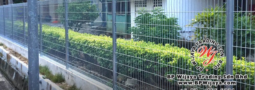 BP Wijaya Security Fence Manufacturer Malaysia Hotdip Galvanized Fence FA Security Fence Kuala Lumpur Pahang Johor Fence Malaysia Fence Johor B00