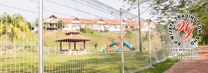 BP Wijaya Trading Sdn Bhd Malaysia Johor Batu Pahat manufacturer of safety fences building materials Hotdip Galvanized Fence Mesh Wire Fence FA BRC B00