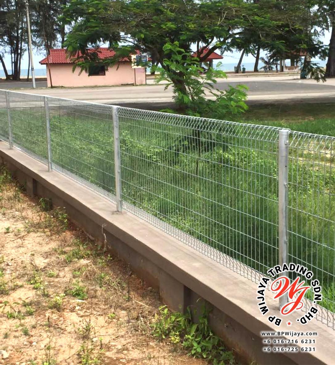 BP Wijaya Trading Sdn Bhd Malaysia Johor Batu Pahat manufacturer of safety fences building materials Hotdip Galvanized Fence Mesh Wire Fence FA BRC B01