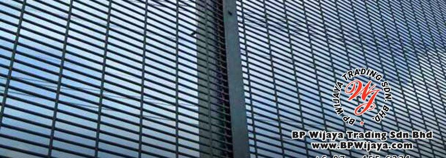 BP Wijaya Security Fence Manufacturer Malaysia Hotdip Galvanized Anti-Climb Fence ACF 12.5 Security Fence Kuala Lumpur Pahang Johor A00