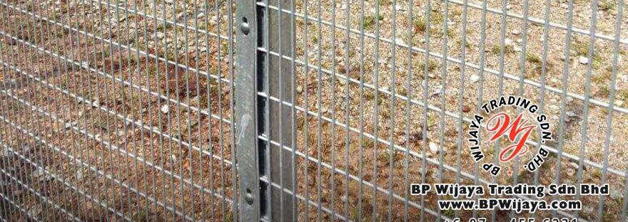 BP Wijaya Security Fence Manufacturer Malaysia Hotdip Galvanized Anti-Climb Fence ACF 25 Security Fence Kuala Lumpur Pahang Johor A00