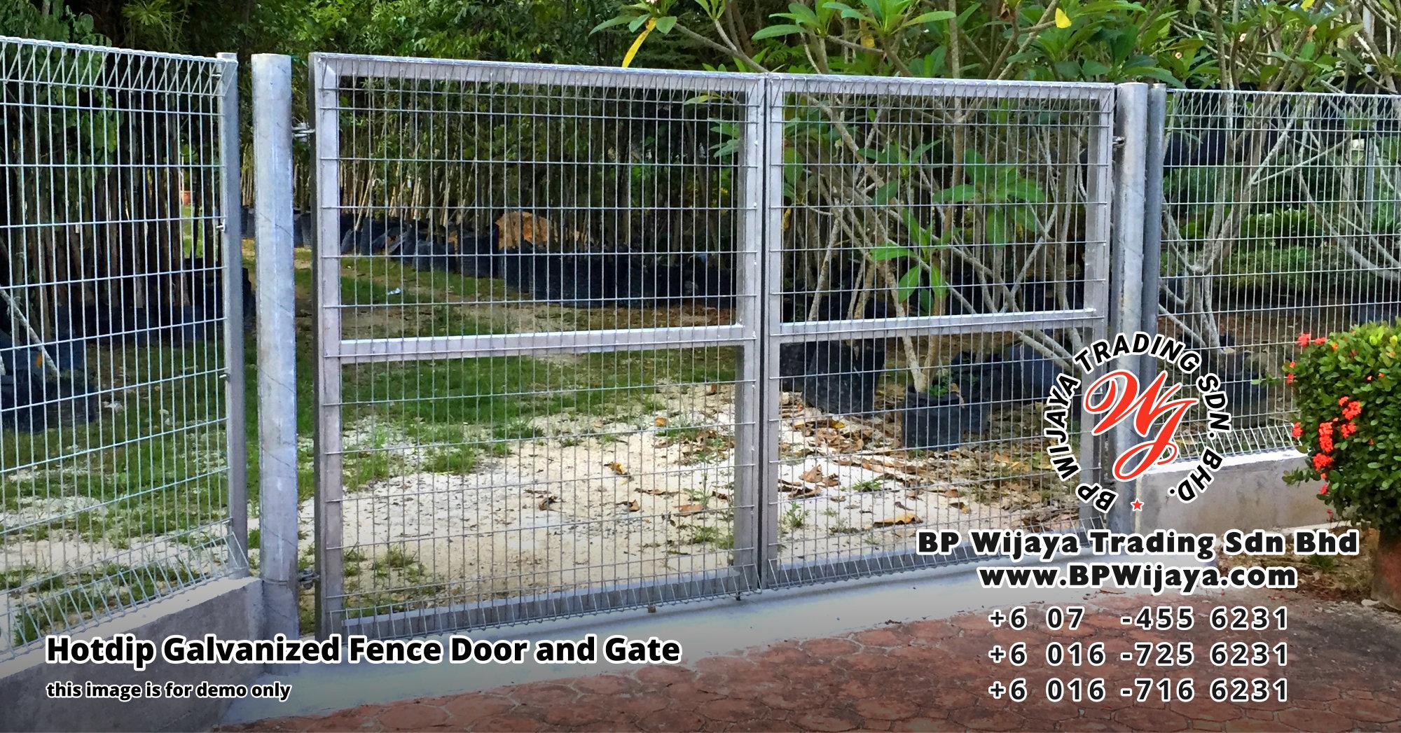BP Wijaya Security Fence Manufacturer Malaysia Hotdip Galvanized Fence Door and Fence Gate Security Fence Kuala Lumpur Pahang Johor Fence Malaysia A00
