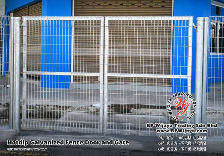 BP Wijaya Security Fence Manufacturer Malaysia Hotdip Galvanized Fence Door and Fence Gate Security Fence Kuala Lumpur Pahang Johor Fence Malaysia A01