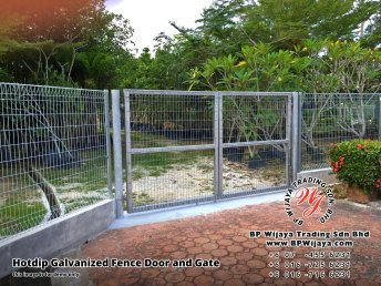 BP Wijaya Security Fence Manufacturer Malaysia Hotdip Galvanized Fence Door and Fence Gate Security Fence Kuala Lumpur Pahang Johor Fence Malaysia A02