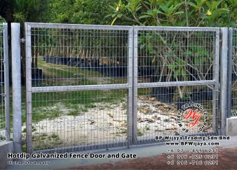 BP Wijaya Security Fence Manufacturer Malaysia Hotdip Galvanized Fence Door and Fence Gate Security Fence Kuala Lumpur Pahang Johor Fence Malaysia A03