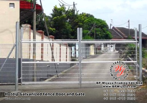 BP Wijaya Security Fence Manufacturer Malaysia Hotdip Galvanized Fence Door and Fence Gate Security Fence Kuala Lumpur Pahang Johor Fence Malaysia A04