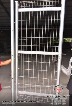 BP Wijaya Security Fence Manufacturer Malaysia Hotdip Galvanized Fence Door and Fence Gate Security Fence Kuala Lumpur Pahang Johor Fence Malaysia A05