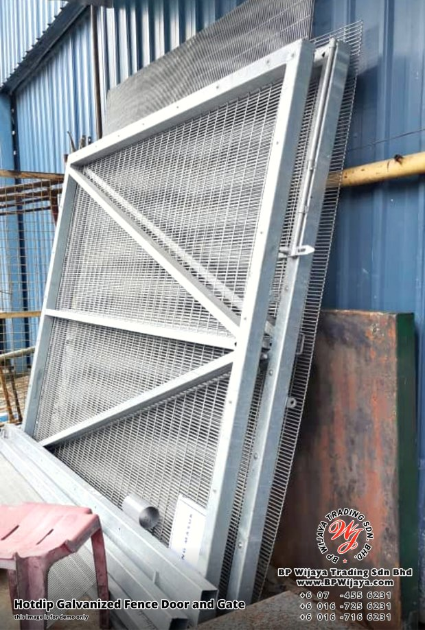 BP Wijaya Security Fence Manufacturer Malaysia Hotdip Galvanized Fence Door and Fence Gate Security Fence Kuala Lumpur Pahang Johor Fence Malaysia A09
