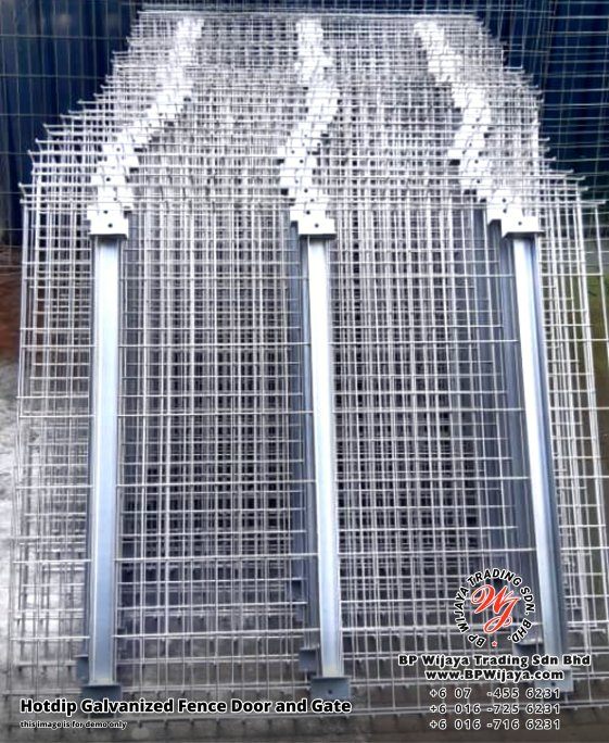 BP Wijaya Security Fence Manufacturer Malaysia Hotdip Galvanized Fence Door and Fence Gate Security Fence Kuala Lumpur Pahang Johor Fence Malaysia A11
