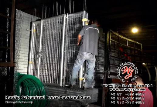 BP Wijaya Security Fence Manufacturer Malaysia Hotdip Galvanized Fence Door and Fence Gate Security Fence Kuala Lumpur Pahang Johor Fence Malaysia A13
