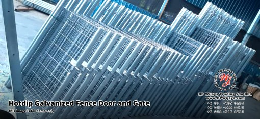 BP Wijaya Security Fence Manufacturer Malaysia Hotdip Galvanized Fence Door and Fence Gate Security Fence Kuala Lumpur Pahang Johor Fence Malaysia A14