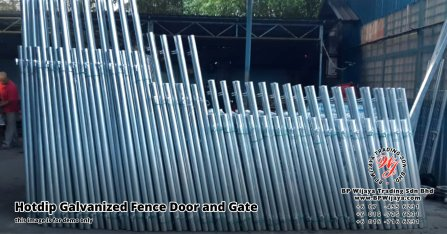 BP Wijaya Security Fence Manufacturer Malaysia Hotdip Galvanized Fence Door and Fence Gate Security Fence Kuala Lumpur Pahang Johor Fence Malaysia A16