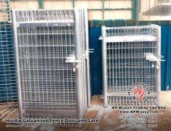 BP Wijaya Security Fence Manufacturer Malaysia Hotdip Galvanized Fence Door and Fence Gate Security Fence Kuala Lumpur Pahang Johor Fence Malaysia A19
