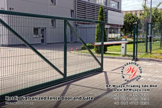 BP Wijaya Security Fence Manufacturer Malaysia Hotdip Galvanized Fence Door and Fence Gate Security Fence Kuala Lumpur Pahang Johor Fence Malaysia B01