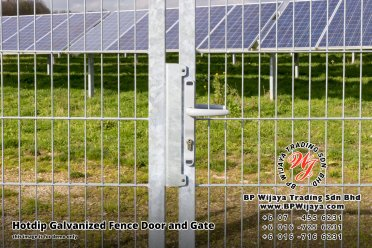 BP Wijaya Security Fence Manufacturer Malaysia Hotdip Galvanized Fence Door and Fence Gate Security Fence Kuala Lumpur Pahang Johor Fence Malaysia B07