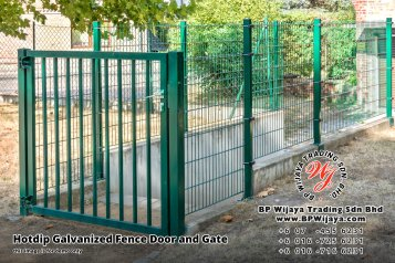 BP Wijaya Security Fence Manufacturer Malaysia Hotdip Galvanized Fence Door and Fence Gate Security Fence Kuala Lumpur Pahang Johor Fence Malaysia B14