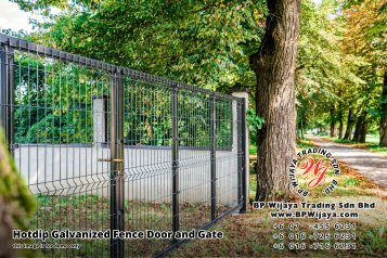 BP Wijaya Security Fence Manufacturer Malaysia Hotdip Galvanized Fence Door and Fence Gate Security Fence Kuala Lumpur Pahang Johor Fence Malaysia B15