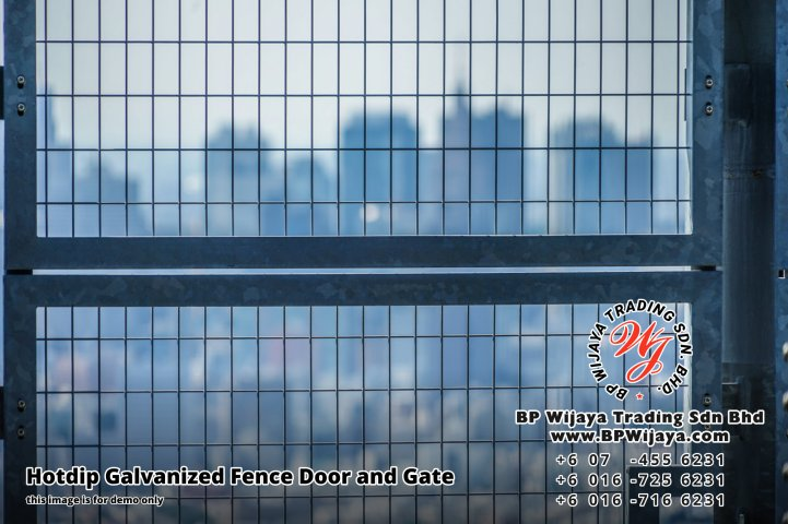BP Wijaya Security Fence Manufacturer Malaysia Hotdip Galvanized Fence Door and Fence Gate Security Fence Kuala Lumpur Pahang Johor Fence Malaysia B16