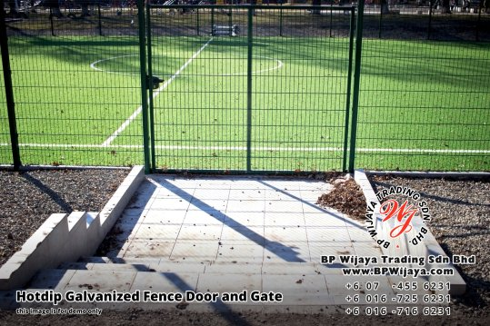 BP Wijaya Security Fence Manufacturer Malaysia Hotdip Galvanized Fence Door and Fence Gate Security Fence Kuala Lumpur Pahang Johor Fence Malaysia B18
