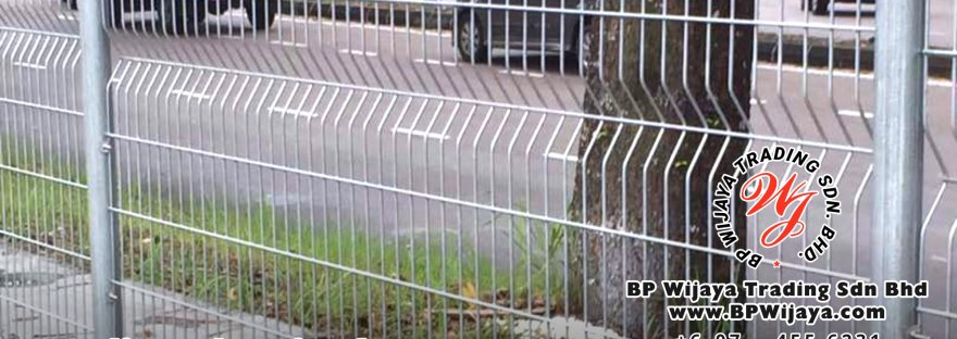 BP Wijaya Security Fence Manufacturer Malaysia Hotdip Galvanized Fence FAV Security Fence Kuala Lumpur Pahang Johor A00