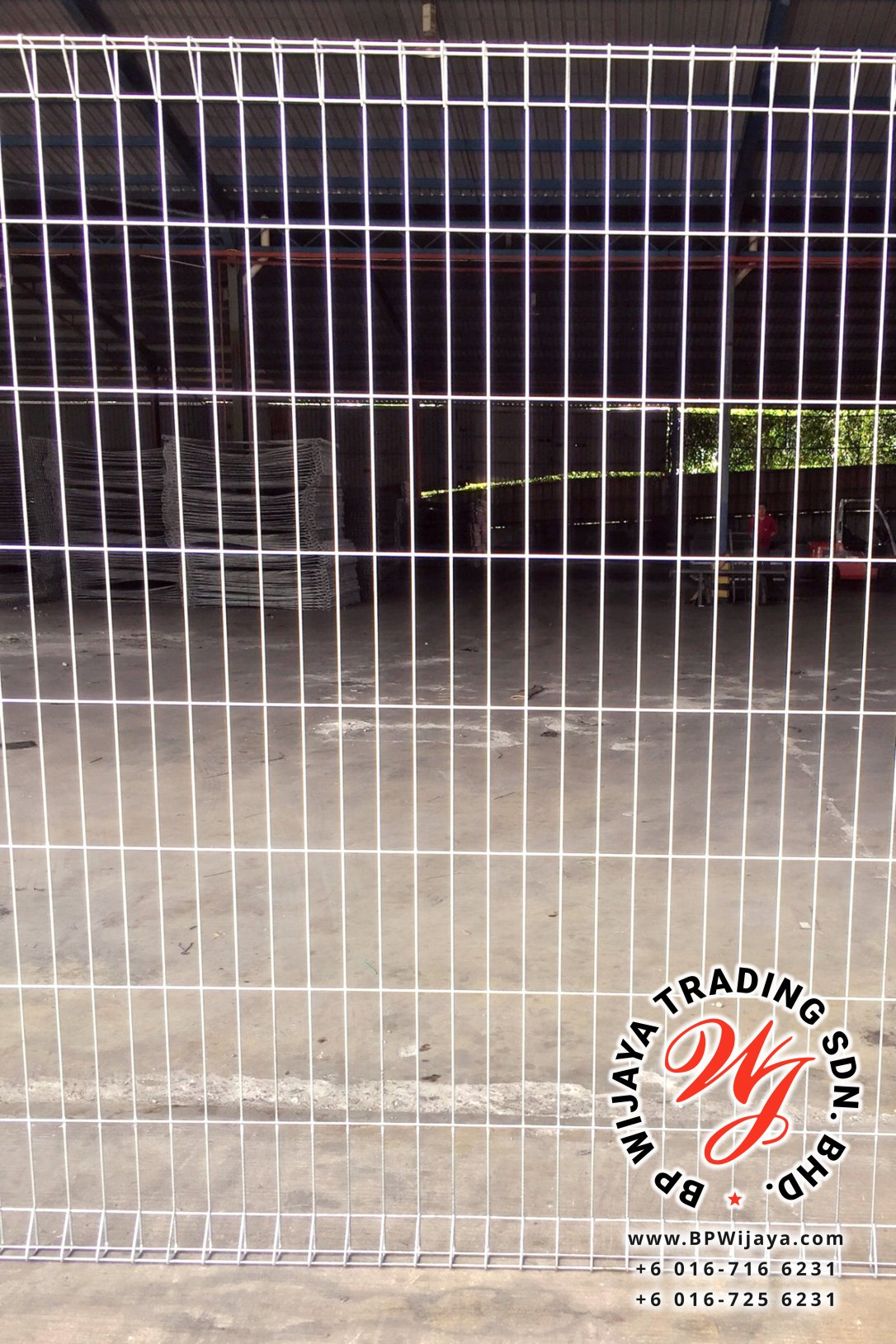 BP Wijaya Trading Sdn Bhd Malaysia Johor Batu Pahat manufacturer of safety fences building materials Hotdip Galvanized Fence Mesh Wire Fence FB BRC B08