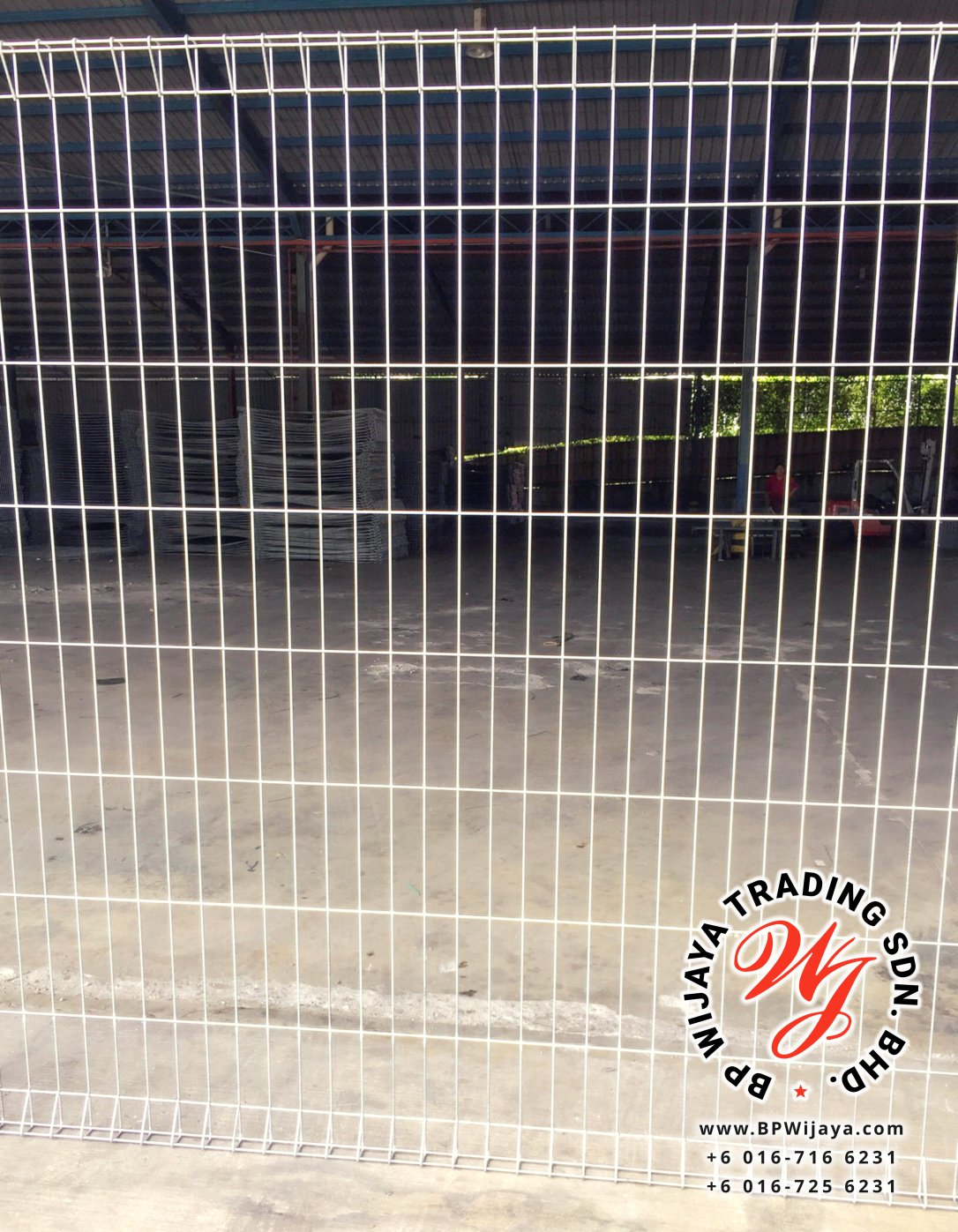 BP Wijaya Trading Sdn Bhd Malaysia Johor Batu Pahat manufacturer of safety fences building materials Hotdip Galvanized Fence Mesh Wire Fence FB BRC B09