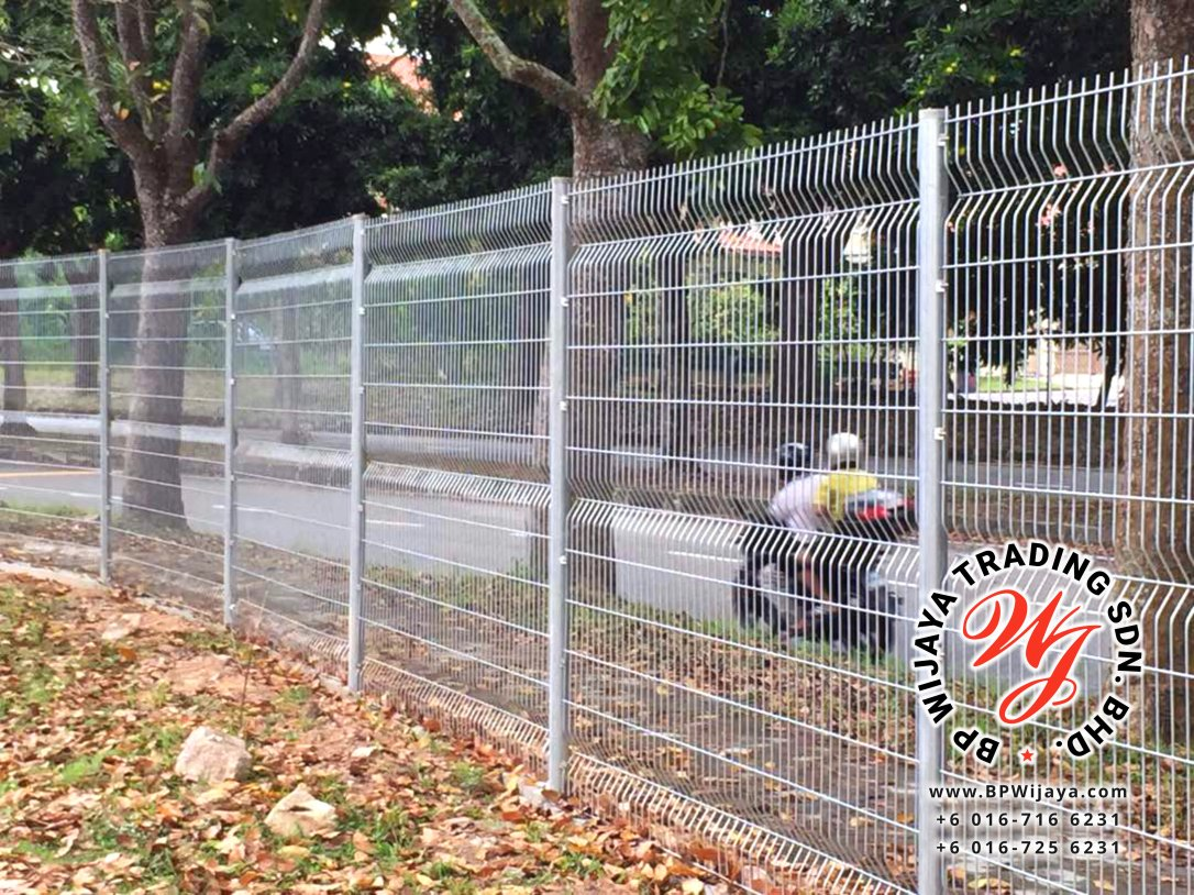 BP Wijaya Trading Sdn Bhd Malaysia Johor Batu Pahat manufacturer of safety fences building materials Hotdip Galvanized Fence Shape V Mesh Wire Fence FAV V Shape Fence BRC B01
