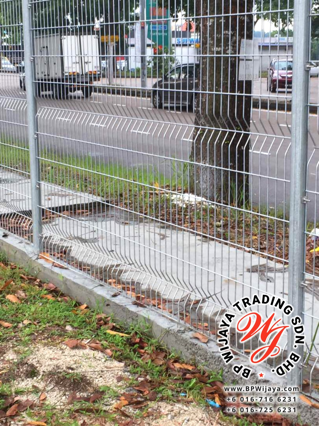 BP Wijaya Trading Sdn Bhd Malaysia Johor Batu Pahat manufacturer of safety fences building materials Hotdip Galvanized Fence Shape V Mesh Wire Fence FAV V Shape Fence BRC B02