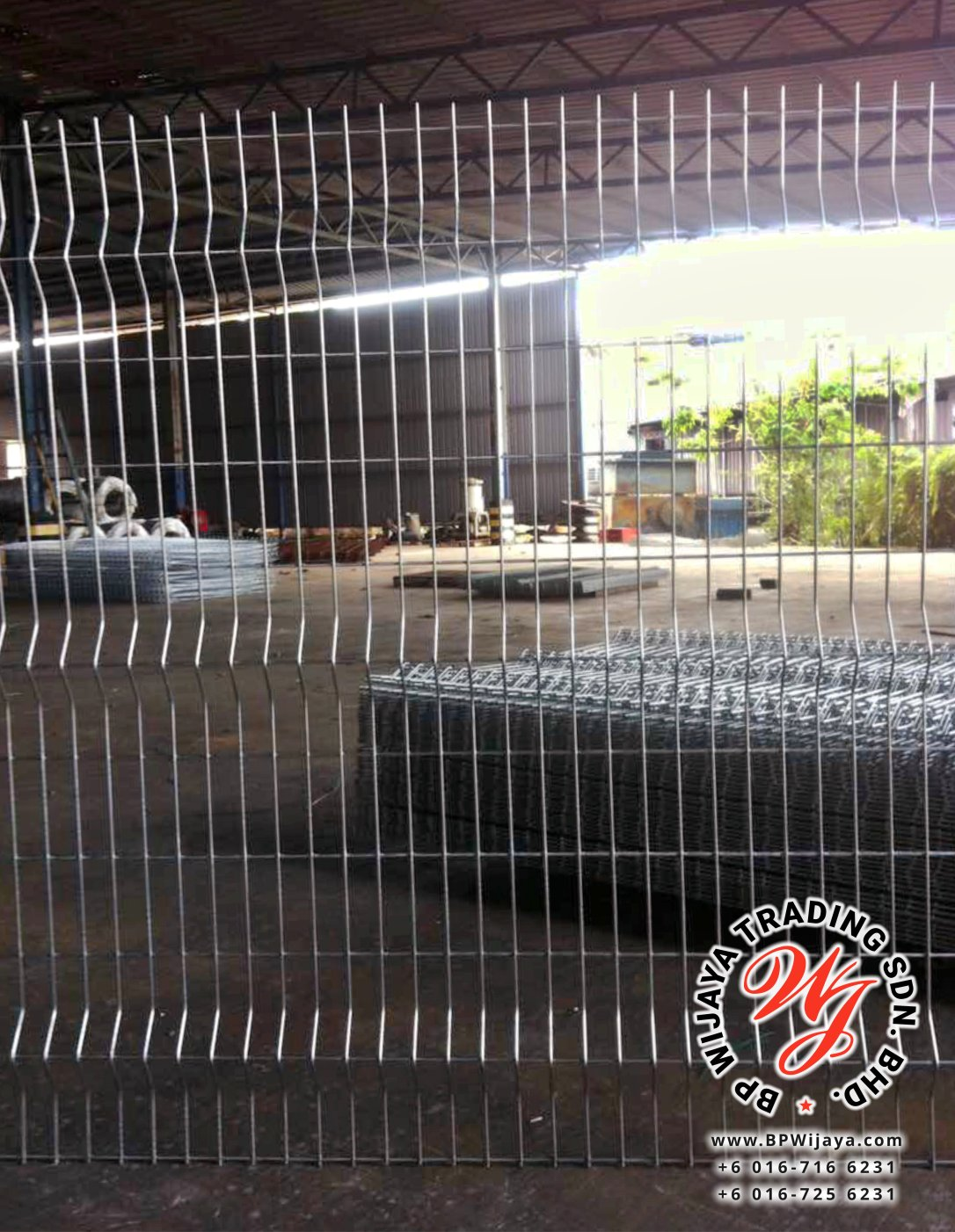 BP Wijaya Trading Sdn Bhd Malaysia Johor Batu Pahat manufacturer of safety fences building materials Hotdip Galvanized Fence Shape V Mesh Wire Fence FAV V Shape Fence BRC B03