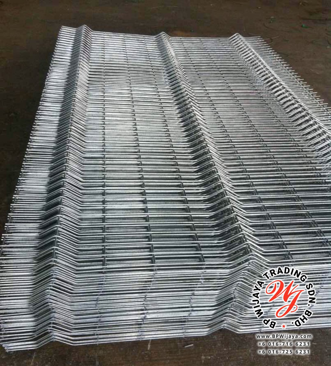 BP Wijaya Trading Sdn Bhd Malaysia Johor Batu Pahat manufacturer of safety fences building materials Hotdip Galvanized Fence Shape V Mesh Wire Fence FAV V Shape Fence BRC B04