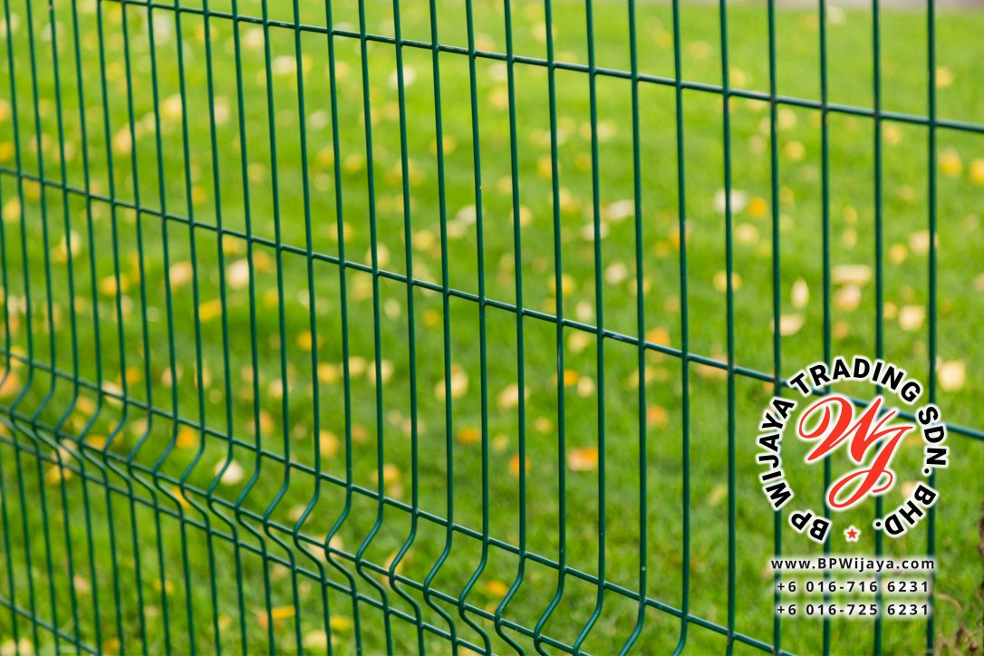 BP Wijaya Trading Sdn Bhd Malaysia Johor Batu Pahat manufacturer of safety fences building materials Hotdip Galvanized Fence Shape V Mesh Wire Fence FAV V Shape Fence BRC B09