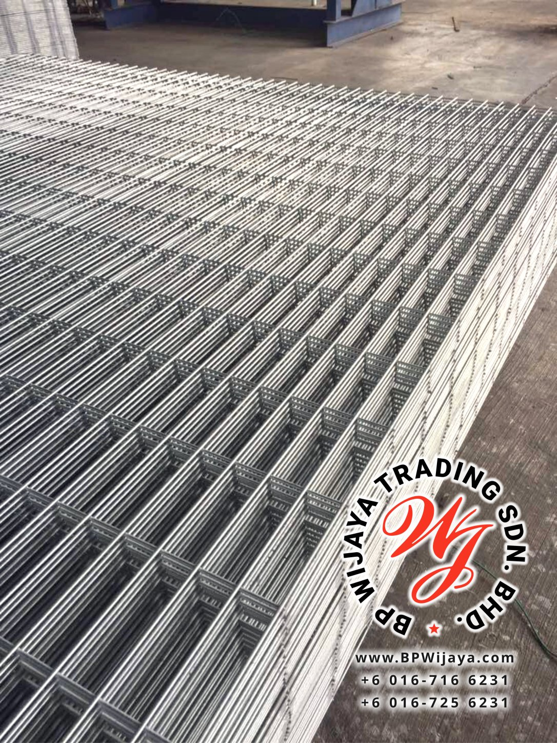 BP Wijaya Trading Sdn Bhd Malaysia manufacturer Distributor safety fences building materials Anti Climb Fence ACF 25 Mesh Wire Fence ACF Fence BRC from Johor Batu Pahat B03