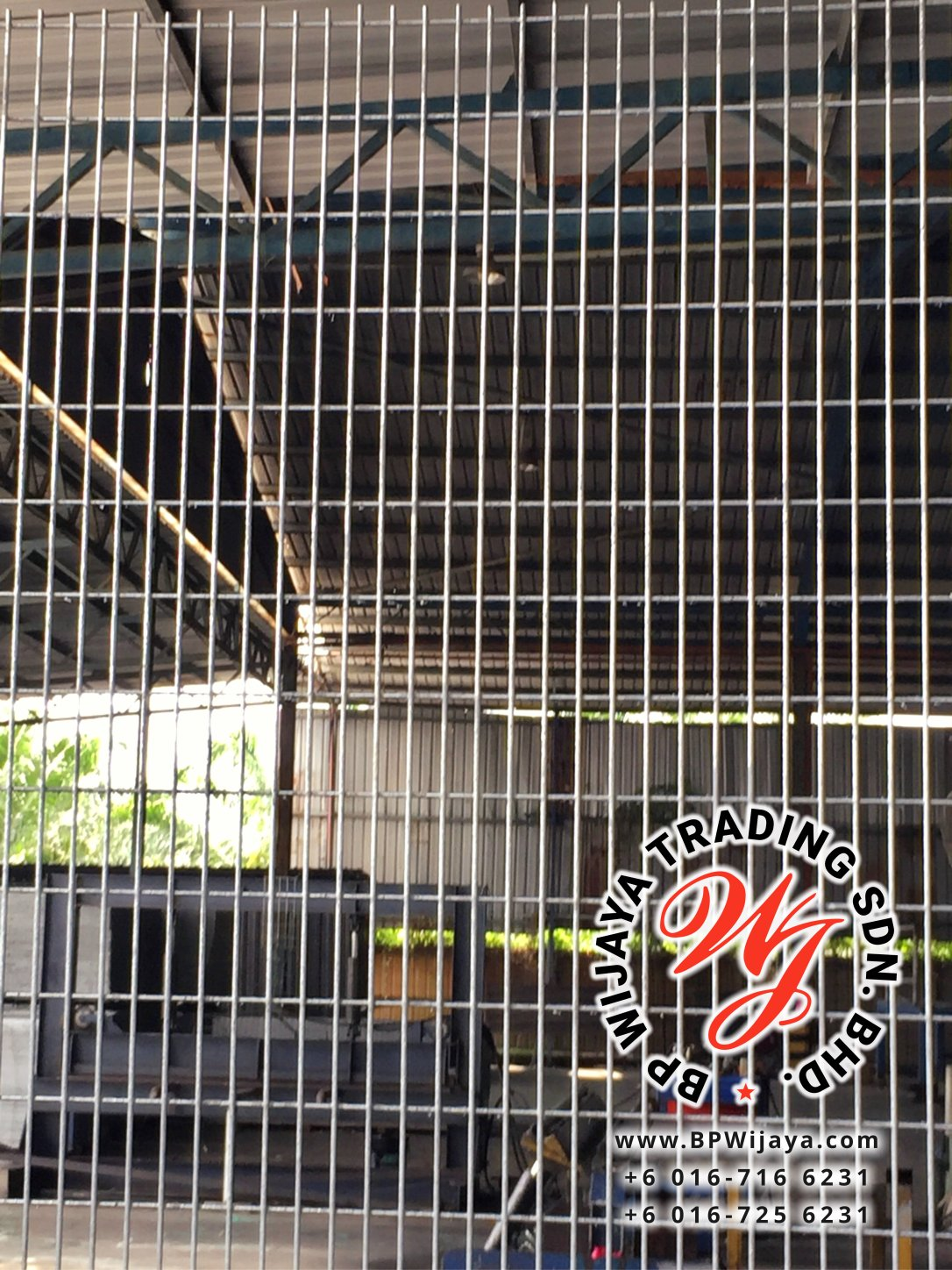BP Wijaya Trading Sdn Bhd Malaysia manufacturer Distributor safety fences building materials Anti Climb Fence ACF 25 Mesh Wire Fence ACF Fence BRC from Johor Batu Pahat B04