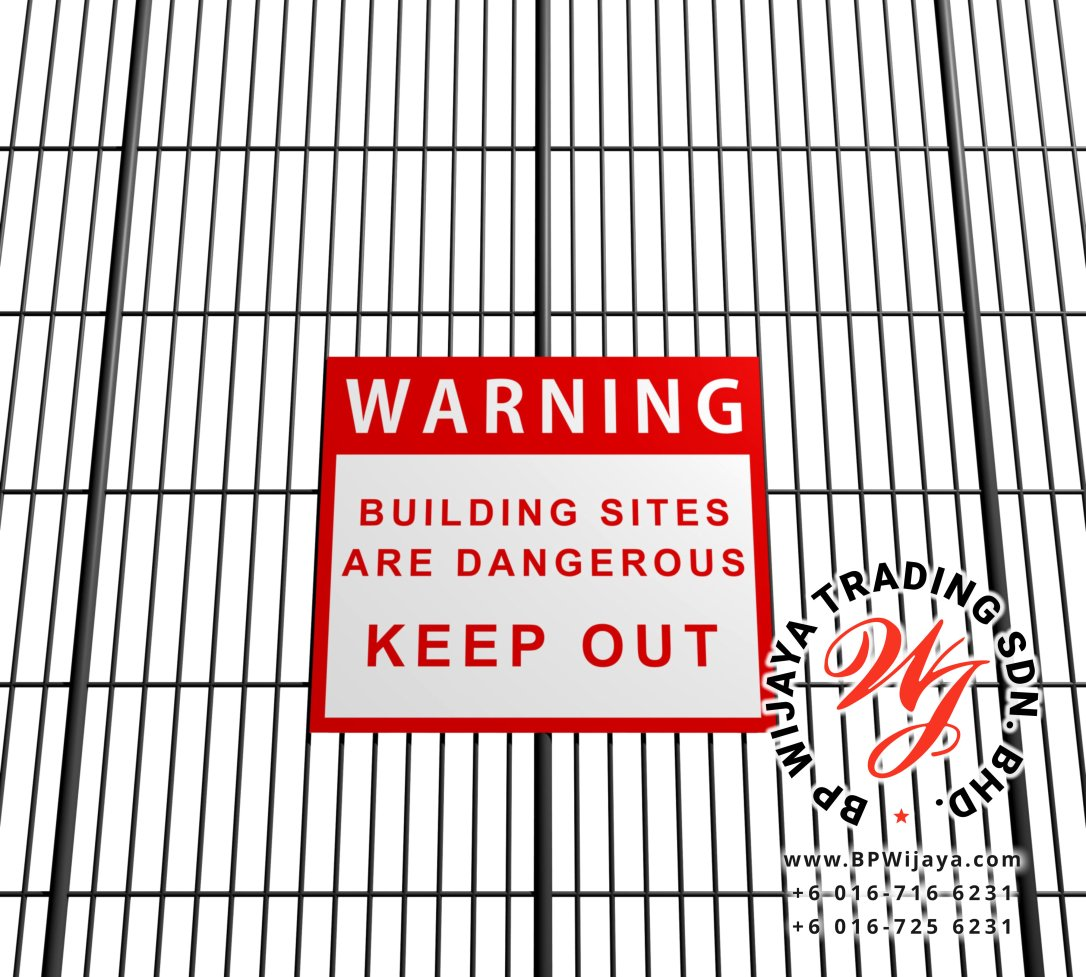BP Wijaya Trading Sdn Bhd Malaysia manufacturer Distributor safety fences building materials Anti Climb Fence ACF 25 Mesh Wire Fence ACF Fence BRC from Johor Batu Pahat B10