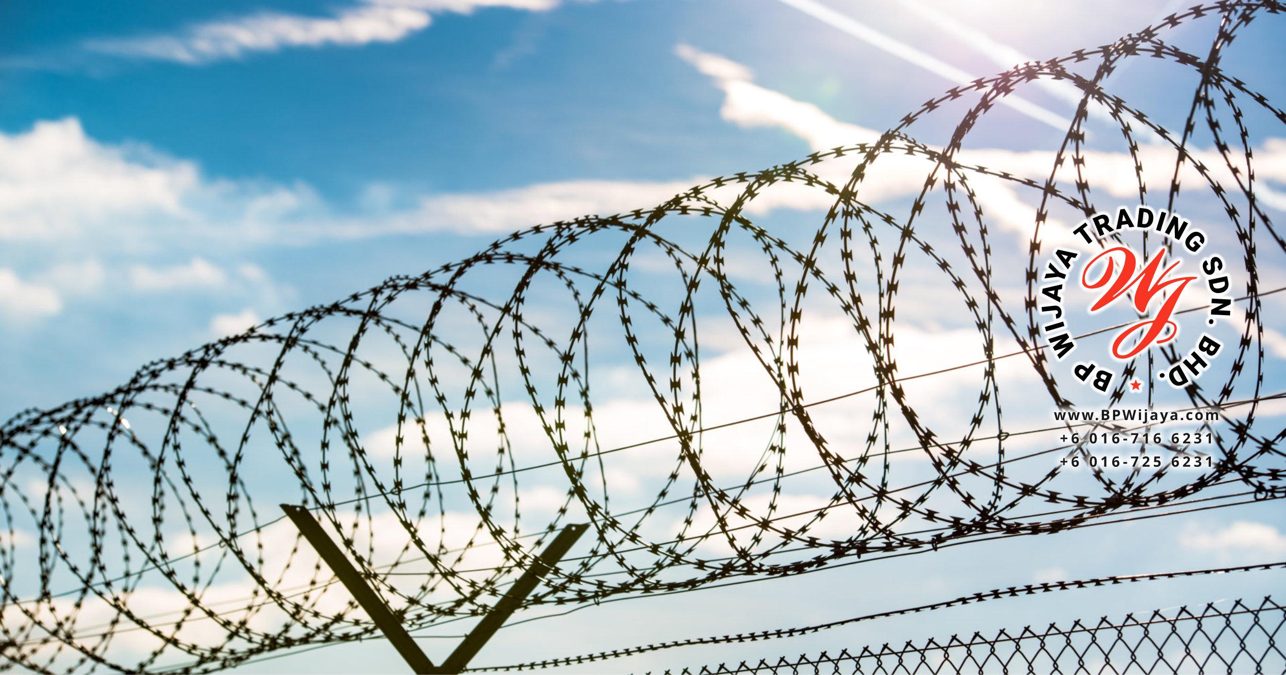 Galvanized Razor Barbed Wire – BP WIJAYA TRADING SDN BHD