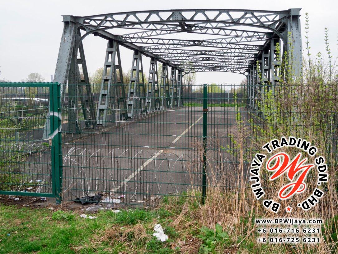 Old abandoned bridge