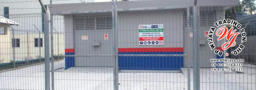 BP Wijaya Trading Sdn Bhd Malaysia manufacturer Distributor safety fences building materials Anti Climb Fence Hotdip Galvanized Fence Door and Fence Gate Mesh Wire Fence BRC from Johor B