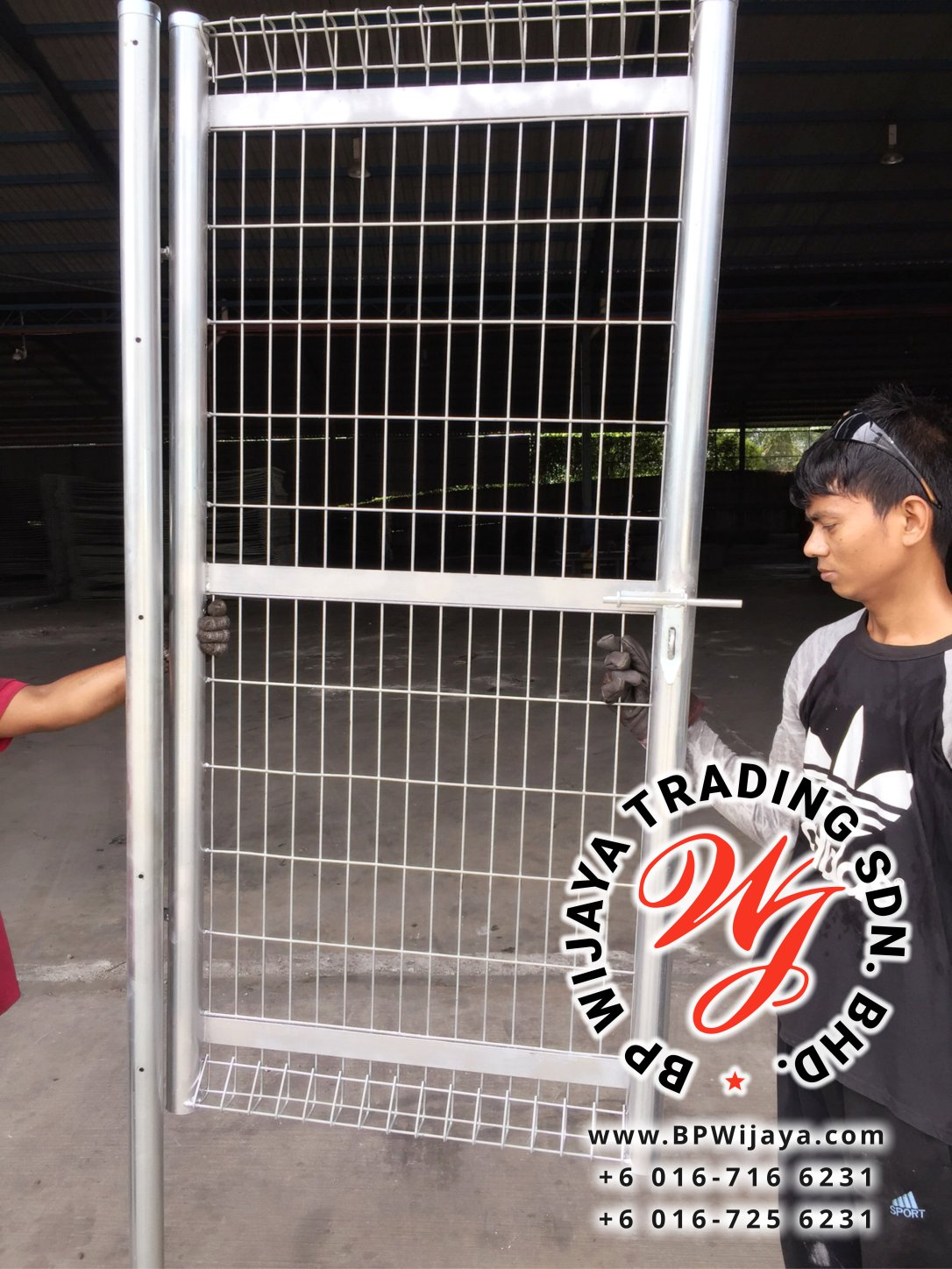 BP Wijaya Trading Sdn Bhd Malaysia manufacturer Distributor safety fences building materials Anti Climb Fence Hotdip Galvanized Fence Door and Fence Gate Mesh Wire Fence BRC from Johor Batu Pahat B03