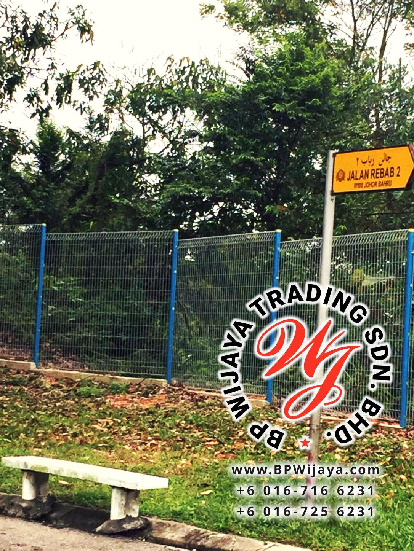 KUALA LUMPUR SELANGOR SECURITY FENCE SAFETY FENCE MANUFACTURER MALAYSIA BP WIJAYA BA05