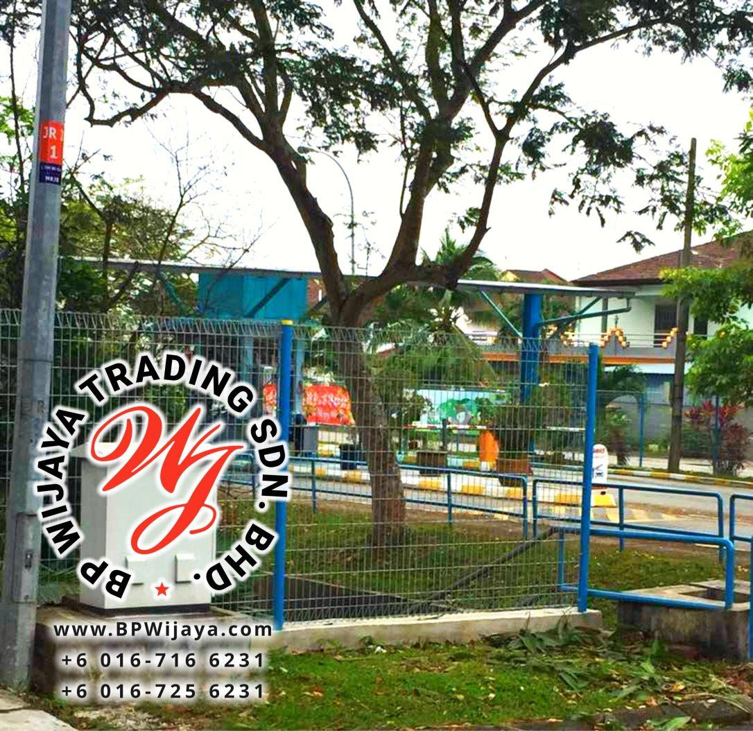 KUALA LUMPUR SELANGOR SECURITY FENCE SAFETY FENCE MANUFACTURER MALAYSIA BP WIJAYA BA06