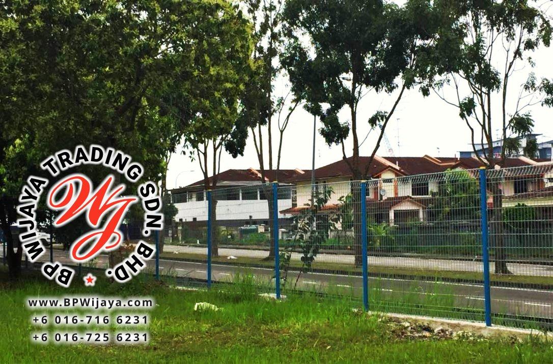 KUALA LUMPUR SELANGOR SECURITY FENCE SAFETY FENCE MANUFACTURER MALAYSIA BP WIJAYA BA11