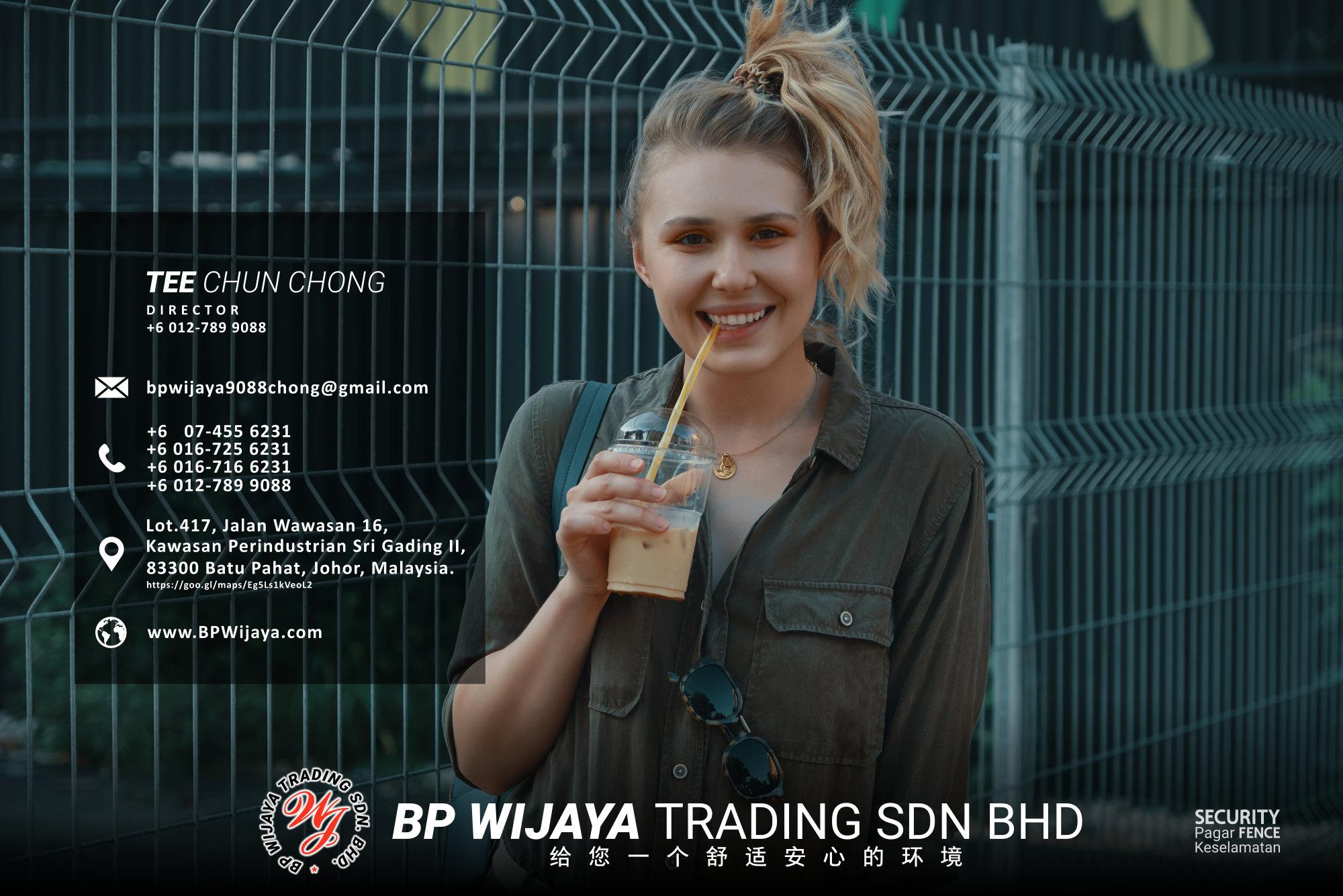 吉隆坡安全篱笆供应商 - 我们是安全篱笆制造商 BP Wijaya Trading Sdn Bhd 住家围栏篱笆 提供 吉隆坡篱笆 建筑材料 给 发展商 花园 公寓 住家 工厂 农场 果园 安全藩篱 建设 A03-016