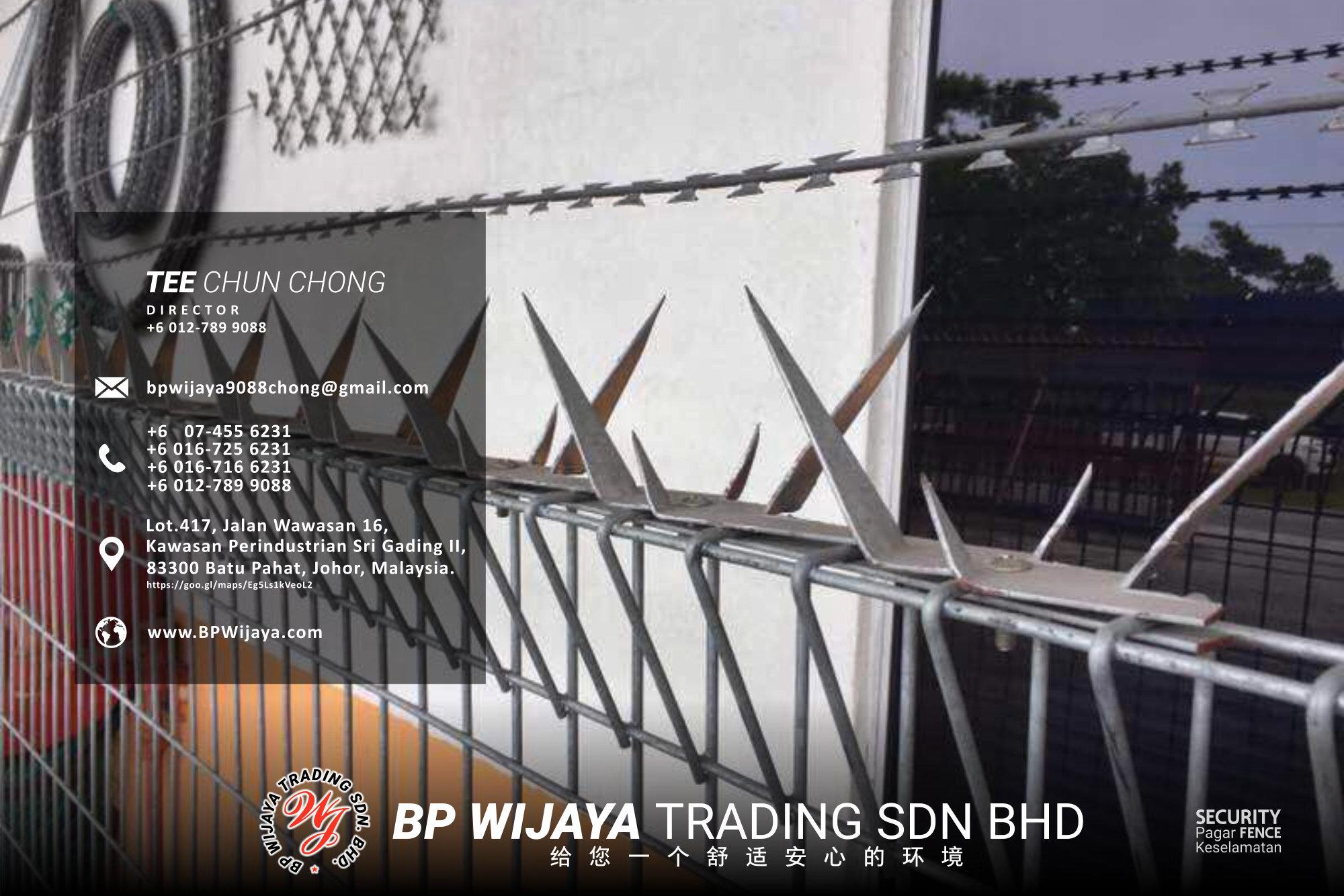 吉隆坡安全篱笆供应商 - 我们是安全篱笆制造商 BP Wijaya Trading Sdn Bhd 住家围栏篱笆 提供 吉隆坡篱笆 建筑材料 给 发展商 花园 公寓 住家 工厂 农场 果园 安全藩篱 建设 A03-025