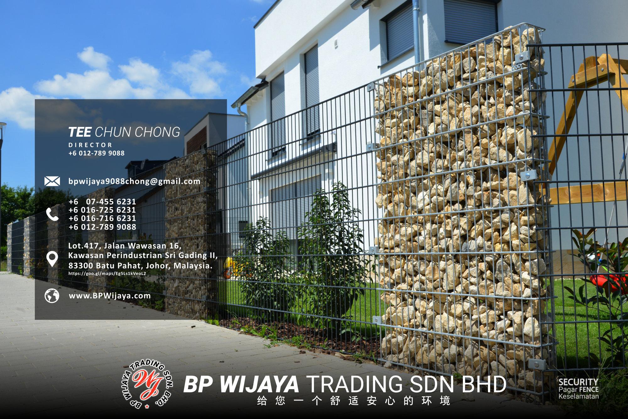 吉隆坡安全篱笆供应商 - 我们是安全篱笆制造商 BP Wijaya Trading Sdn Bhd 住家围栏篱笆 提供 吉隆坡篱笆 建筑材料 给 发展商 花园 公寓 住家 工厂 农场 果园 安全藩篱 建设 A03-011