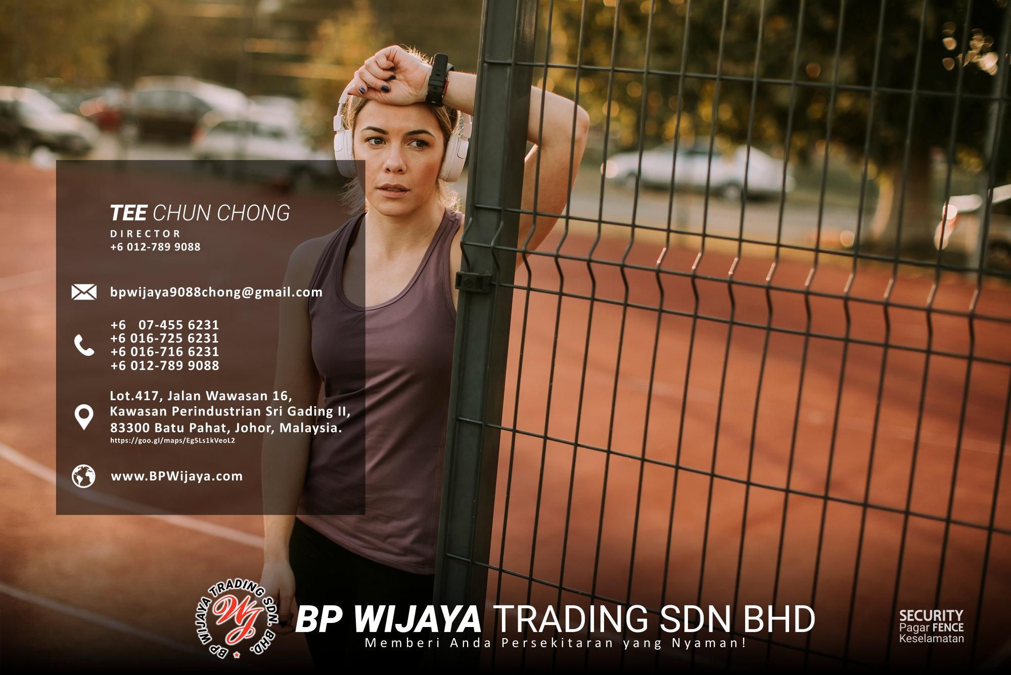 Pembekal Kuala Lumpur Pagar Keselamatan kami merupakan pengilang pagar keselamatan BP Wijaya Trading Sdn Bhd Pagar Taman Pagar Bangunan Pagar Kilang Pagar Rumah Pemborong Pagar Keselamatan A03-014