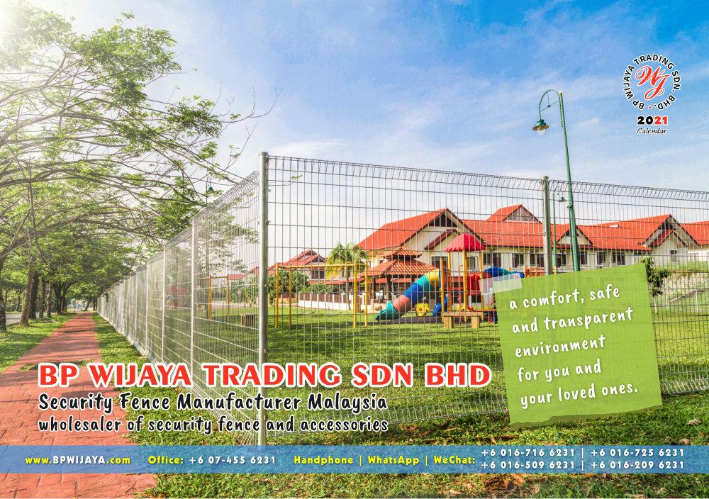 Calendar 2021 BP Wijaya Trading Security Fence Manufacturer Malaysia wholesaler of security fence and accessories Malaysia Kuala Lumpur Johor A01