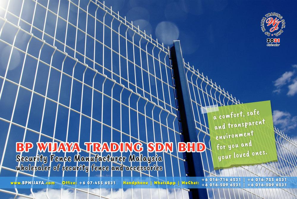 Calendar 2021 BP Wijaya Trading Security Fence Manufacturer Malaysia wholesaler of security fence and accessories Malaysia Kuala Lumpur Johor A09