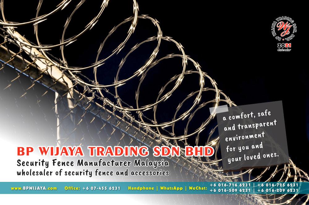 Calendar 2021 BP Wijaya Trading Security Fence Manufacturer Malaysia wholesaler of security fence and accessories Malaysia Kuala Lumpur Johor A13