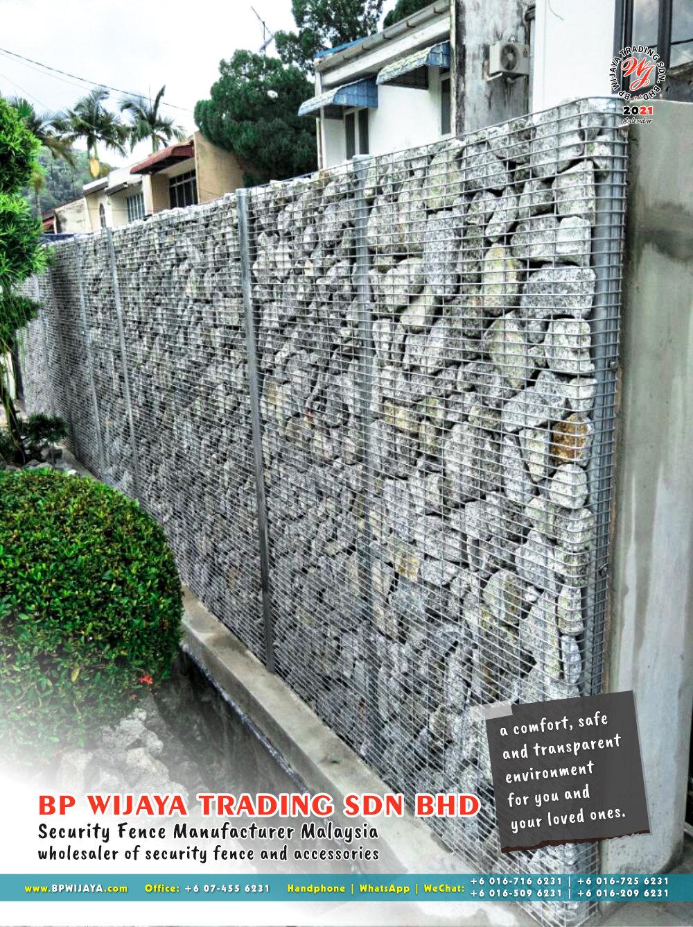 Calendar 2021 BP Wijaya Trading Security Fence Manufacturer Malaysia wholesaler of security fence and accessories Malaysia Kuala Lumpur Johor A14