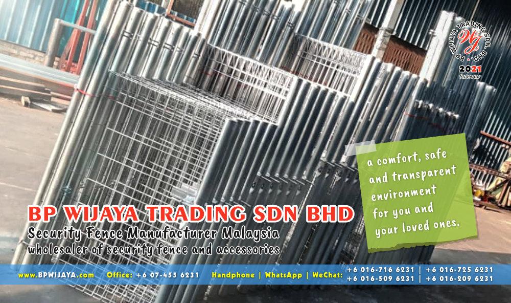 Calendar 2021 BP Wijaya Trading Security Fence Manufacturer Malaysia wholesaler of security fence and accessories Malaysia Kuala Lumpur Johor A16